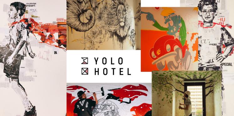 2019年9月28日大阪・新今宮に『YOLO HOTEL MUSEUM』がオープンいたします!